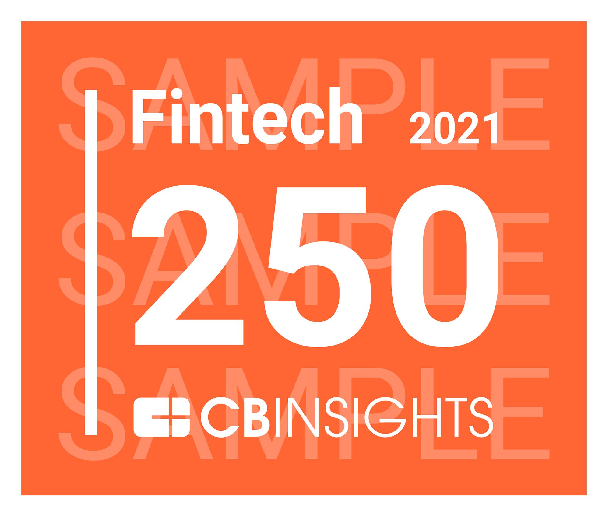 Fintech 250 Badge 2021